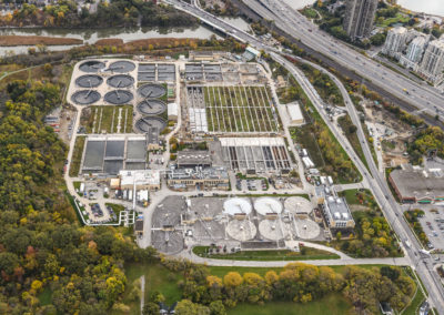 Humber Treatment Plant (2017-10-26) Aerial 11